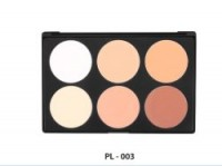 Private Label Makeup 6 Colors Highlight Contour Palette
