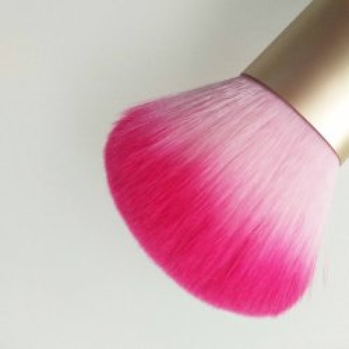 Dual End Powder Makeup Brush with Synthetic Brush