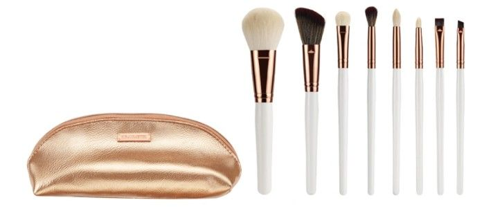 Travel Makeup Brush Set Bionic Hair
