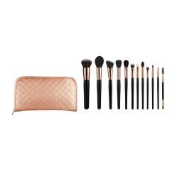 Wood Hand Synthetic Hair Makeup Brush Set