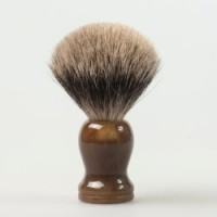 Professional Makeup Pure Badger Hair Shaving Brush for Male