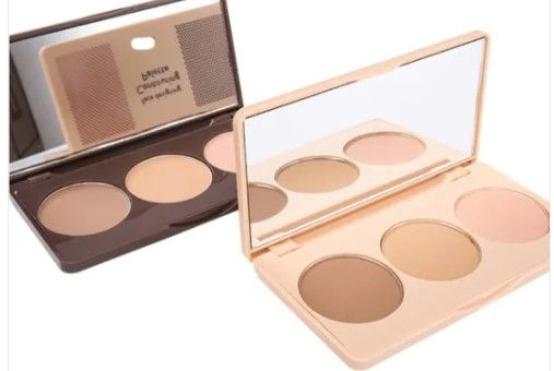 Private Label Makeup 3 Colors Contour Palette