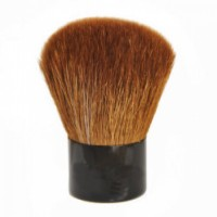 Affordable Price Kabuki Cosmetic Brush with Goat Hair