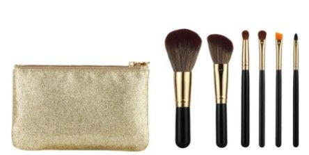 Travel Makeup Brush Set Synthetic Hair